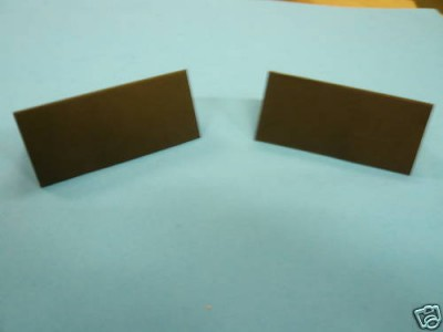 Black Placecards 50 50 x Black Placecards